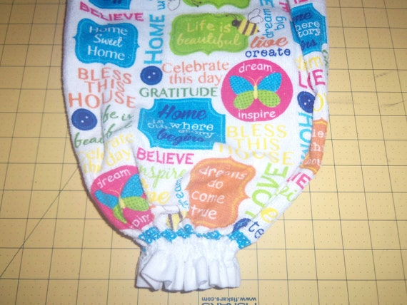 Quotes On Plastic Bags: LOVING SAYINGS And WORDS Plastic Bag Holder For Kitchen