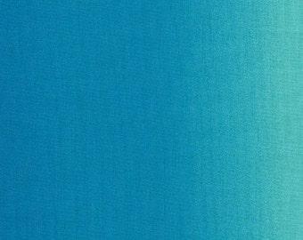 Aqua Ombre Shades by Kinkame Clothworks 1 yard