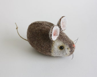 Pocket Mouse - Walnut Tweed