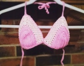 Crocheted Bikini Top