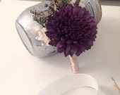 Boutonniere made with sola flowers - choose your colors - balsa wood - Choose colors