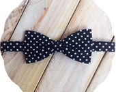 Black Polka Dot Bow Tie >> Self Tie Classic Pre-tied Mens Boys Baby Fathers Day Wedding Prom Graduation Birthday Groomsmen Formal Father Son
