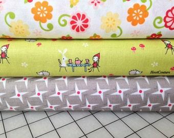 Half Yard Bundle from Riley Blake Fabrics  - 1.5 yards total - on sale