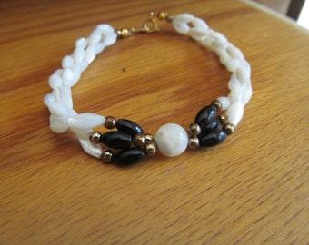 mother pearl twist bracelet