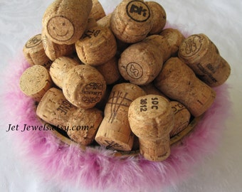 45 Champagne Corks, Used Corks, All Natural Corks, Recycled Corks, Wine Wedding, Cork Crafts, Sparkling Wine, Wine Party