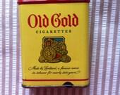 Old Gold Cigarette Tin Case