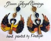 Queen Angel Earrings