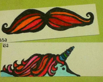 Set of two bookmarks