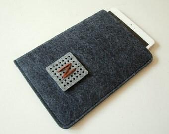 iPad Mini Case, Monogram Sleeve, Custom Made.