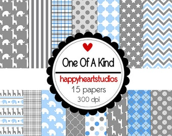 Digital Scrapbook  OneOfAKind-INSTANT DOWNLOAD