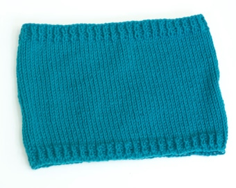 Brioche Rib Cowl Knitting Pattern, Instant Download pattern, Knit Neck Warmer  PDF Pattern