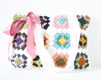 Crochet shoulderbag Whitney