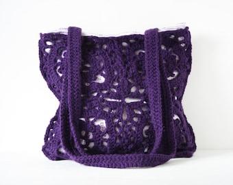 Crochet shoulderbag Pina