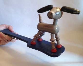 Vintage Fisher Price Pop Up Kritter Donkey Toy Made in 1931
