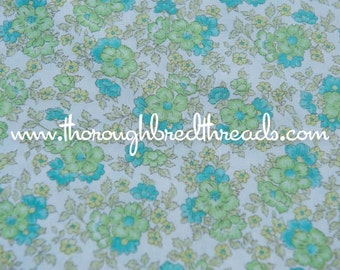 Sweet All Over Floral- Vintage Fabric 70s 80s New Old Stock
