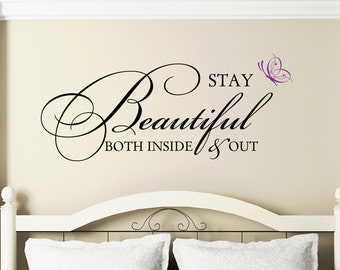 Teen Girl Wall Decal | Etsy