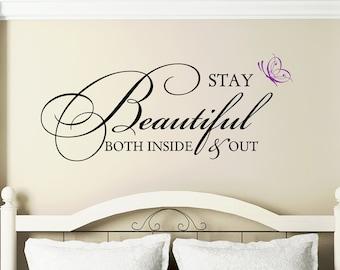 Bedroom Wall Decals Bedroom Wall Decal  Etsy