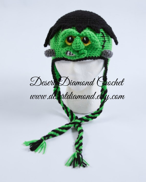 Frankenstein Monster Hat - Any Size!