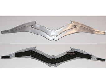 Emblem only... New DC 52 GORGEOUS Genuine Metallic Steel Look Justice League Wonder Woman Emblem/Top Chestplate only...