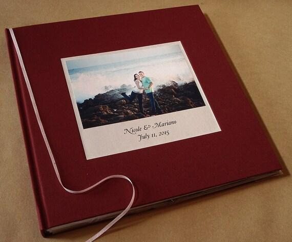 Wedding Guest Book Cover Design : Custom scrapbook baby book album wedding by
