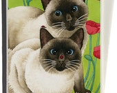Seeing Two Greeting Card by Tracy Lizotte