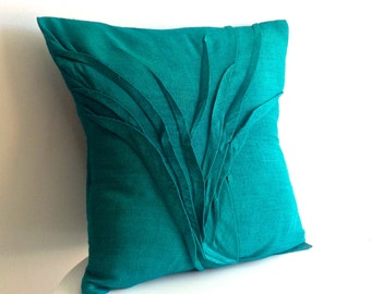 sculpted grass pillow - textured pillow in - available in 11 colors