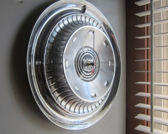 1959 Buick Hubcap Clock No. 2286