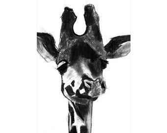"""13x19"""" giraffe print"""