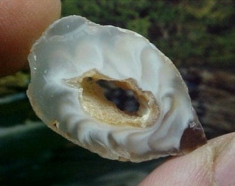 Crystal Ocho Coco Geode Slice Great To Wire Wrap Into Your Favorite Design e573