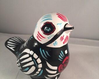 Dia de Los Muertos Bird / mexican folk art