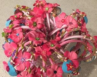 Little Mermaid Starfish Headband Party Favors