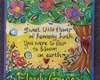 Child's Sympathy, Garden Stone, Baby Sympathy