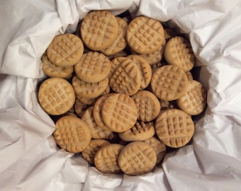 Magnet Wedding Favor Magnets Cookies  Peanut Butter Cookies 100 Pieces Bat mitzvah Cookie party favors wedding cookies  Made to order