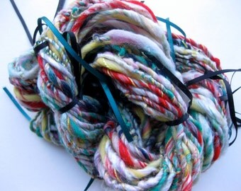 handspun art yarn, Korea