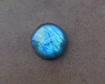 Labradorite cabochon -  round cabochon - gemstone cabochon -  labradorite cab - gemstone cab - 28 mm round - supplies