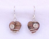 Wire Wrapped Rhodonite He...