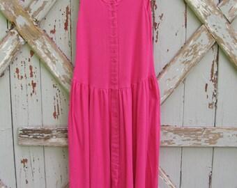 Demi - vintage 1980s sundress dress L XL