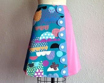 Darla asymmetrical a-line skirt Sz 2