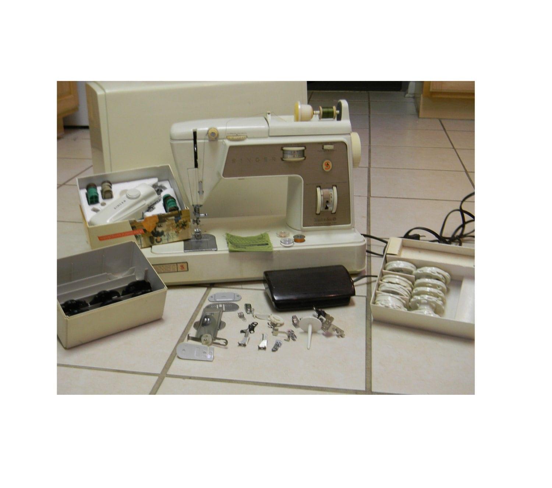 singer 758 sewing machine