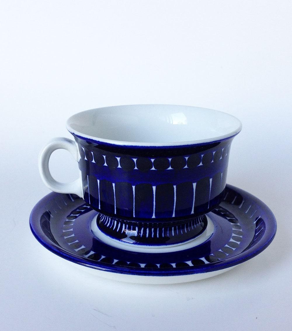 Vintage arabia finland valencia tea cup and saucer hand - Vintage valencia ...