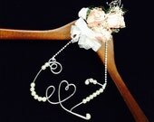 Personalized initials for Wedding Hanger  Wedding Card box decoration