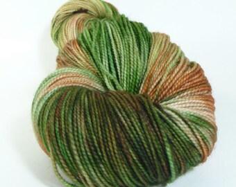 NEW - Yarn of Letters - Jest 2ply Merino/Nylon Sock - No Grass on the Field