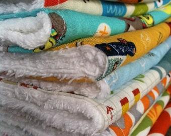 sweetbeesbaby chenille burp cloth