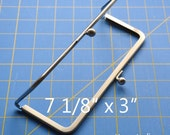 Antique Silver Metal Purse Frame 7 1/8 IN x 3 IN