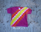 Dune Buggy Bandolier Tie Dye T-Shirt (Gildan Youth Size XS) (One of a Kind)