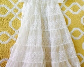 Vintage beautiful christening baptism gown