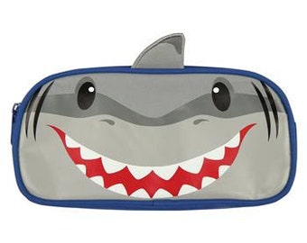 Personalized Stephen Joseph Shark Pencil Pouch