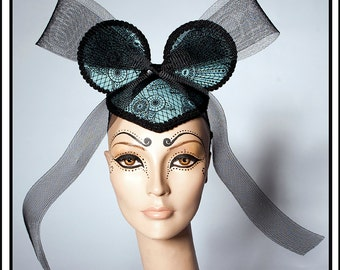 Frolic… Minnie Mouse Ears in Mint With Black Bow