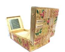 Vintage Beaded Keepsake Box