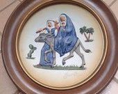 "Vintage Goebel Plate by Janet Rolson ""Flight Into Egypt"" 1974 West Germany"